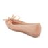 Mini Melissa Kids' Ultragirl Tie Ballet Flats - Blush: Image 4