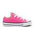 Converse Toddler Chuck Taylor All Star Ox Trainers - Mod Pink: Image 1