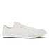 Converse Kids' Chuck Taylor All Star Canvas Ox Trainers - White: Image 1