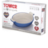 Tower IDT90009 25.5cm Cast Iron Au Gratin - Blue: Image 4