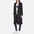Maison Scotch Women's Longer Length Tailored Coat - Navy: Image 2