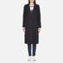 Maison Scotch Women's Longer Length Tailored Coat - Navy: Image 1