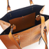 Orla Kiely Women's Willow Box Leather Tote Bag - Tan: Image 6