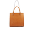 Orla Kiely Women's Willow Box Leather Tote Bag - Tan: Image 7