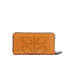 Orla Kiely Women's Big Zip Leather Wallet - Tan: Image 2