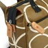 Orla Kiely Women's Linear Stem Print Small Backpack - Camel: Image 4