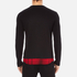McQ Alexander McQueen Men's Recycled T-Shirt - Dark Black/Red Tartan: Image 3