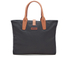 Barbour Women's Wax Shopper Bag - Navy: Image 1