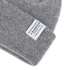 Barbour Men's Lambswool Watch Cap Beanie - Grey: Image 3