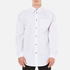 Alexander Wang Men's Relaxed Fit Casual Shirt with Label - White: Image 1
