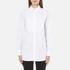MICHAEL MICHAEL KORS Women's Cotton White Bib Shirt - White: Image 1
