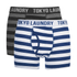 Tokyo Laundry Men's 2-Pack Yass Boxers - Black/Estate Blue: Image 1