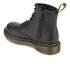 Dr. Martens Kids' Delaney Leather Lace Boots - Black: Image 4
