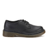 Dr. Martens Kids' Everley Leather Lace Shoes - Black: Image 1