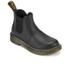 Dr. Martens Kids' Banzai Leather Chelsea Boots - Black: Image 2
