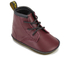 Dr. Martens Baby Auburn Crib Lace Booties - Cherry Red: Image 2