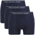 Polo Ralph Lauren Men's 3 Pack Trunk Boxer Shorts - Cruise Navy: Image 1