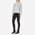 Gestuz Women's Sanni Pullover Grey Cable Knit Jumper - Grey: Image 4
