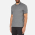 Michael Kors Men's Double Collar Zip Polo Shirt - Ash Melange: Image 2