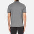 Michael Kors Men's Double Collar Zip Polo Shirt - Ash Melange: Image 3