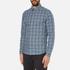 Michael Kors Men's Slim Fit Romeo Long Sleeve Shirt - Pine: Image 2