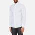 Michael Kors Men's Slim Fit Landon Long Sleeve Shirt - Ocean: Image 2