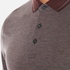 Michael Kors Men's Tipped Birdseye Polo Shirt - Burgundy: Image 5