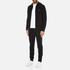 Michael Kors Men's Stretch Fleece Cuffed Sweatpants - Black: Image 4
