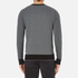 Michael Kors Men's Cotton Jacquard Crew Neck Jumper - Black: Image 3