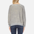 Wildfox Women's Like Button Kims Sweatshirt - Heather Vanilla Latte: Image 3