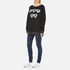 Wildfox Women's Cry Baby Roadtrip Sweatshirt - Clean Black: Image 4