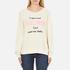 Wildfox Women's New Clothes Kims Sweatshirt - Vanilla Latte: Image 1