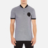 Versace Collection Men's Bomber Collar Polo Shirt - Grigio: Image 1