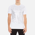 Versace Collection Men's Reflective Large Logo T-Shirt - Bianco-Stampa: Image 1