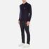 Maison Kitsuné Men's Virgin Wool Polo Shirt - Navy: Image 4