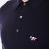 Maison Kitsuné Men's Virgin Wool Polo Shirt - Navy: Image 5