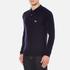 Maison Kitsuné Men's Virgin Wool Polo Shirt - Navy: Image 2