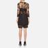Three Floor Women's Parallel Dress - Black: Image 3