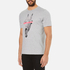 PS by Paul Smith Men's Crew Neck Short Sleeve Regular Fit T-Shirt - Grey: Image 2