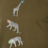 PS by Paul Smith Men's Crew Neck Short Sleeve Animal Logo T-Shirt - Khaki: Image 5