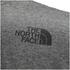 The North Face Men's Easy T-Shirt - TNF Medium Grey Heather: Image 4