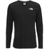 The North Face Men's Long Sleeve Easy T-Shirt - TNF Black: Image 1