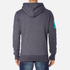 Superdry Men's Vintage Logo New Hoody - Grape Juice Jaspe: Image 3