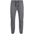 Brave Soul Men's Fine Cuffed Chinos - Grey: Image 1
