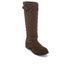 Barbour Women's Holford Waxy Suede Quilted Knee Boots - Brown: Image 2