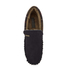 Barbour Men's Monty Suede Moccasin Slippers - Navy: Image 3