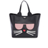 Karl Lagerfeld Women's K/Kocktail Choupette Shopper Bag - Black: Image 1