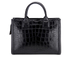 Karl Lagerfeld Women's K/Klassik Croco Tote Bag - Black: Image 6