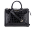 Karl Lagerfeld Women's K/Klassik Croco Tote Bag - Black: Image 1