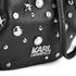 Karl Lagerfeld Women's K/Rocky Studs Drawstring Bag - Black: Image 4
